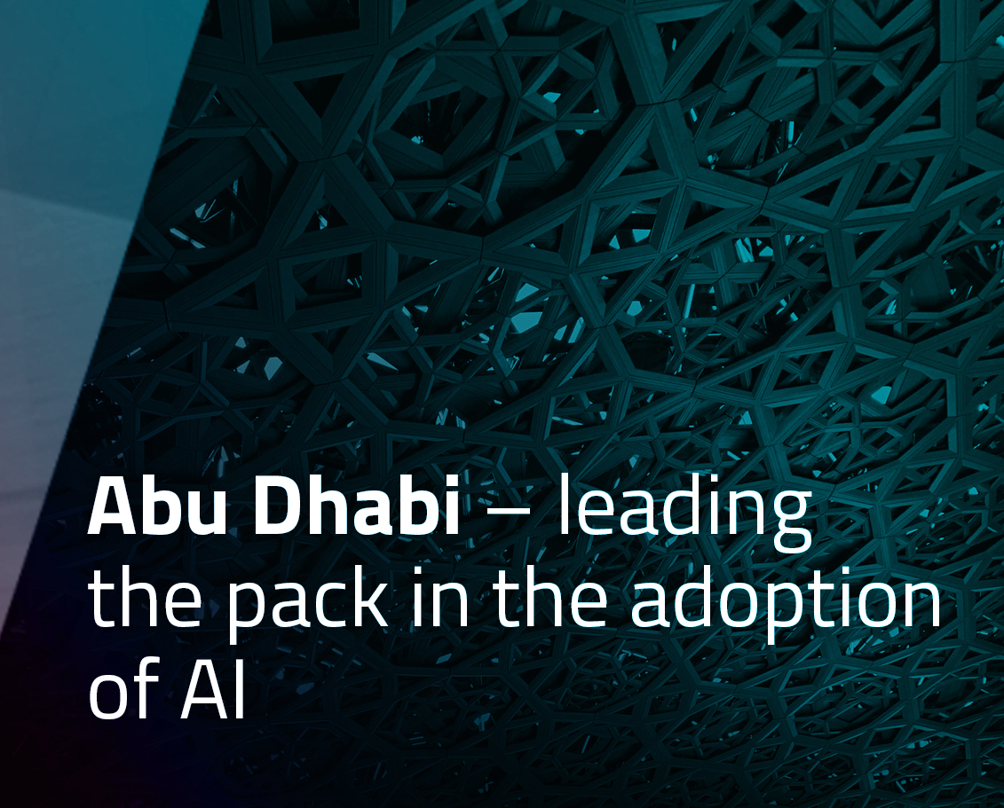 Abu Dhabi – leading the pack in the adoption of AI
