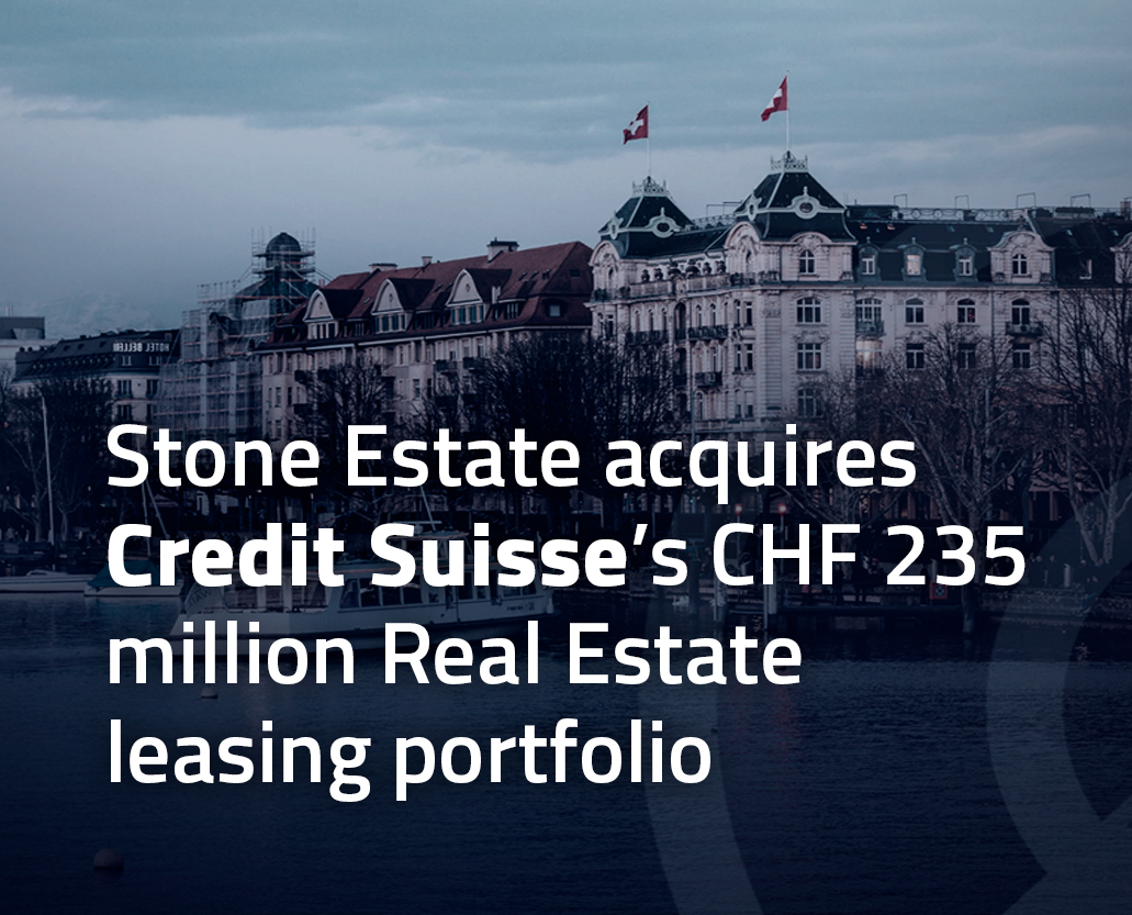 Credit Suisse Acquisitions by Stone Estate - Reech Corporations Group